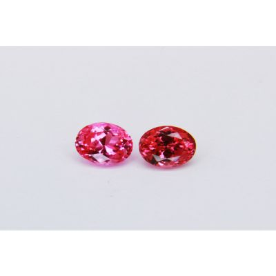 Redish Pink Spinel oval pair 2.04 cts PSPIN0035G