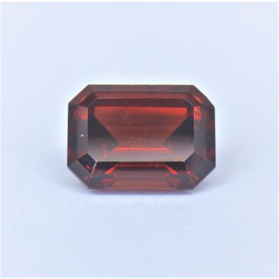 3.7CT RED SPINEL Emerald cut / Asher cut SSS0011