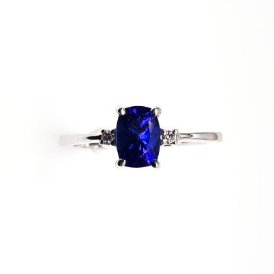 Tanzanite white gold ring GWTZRG001