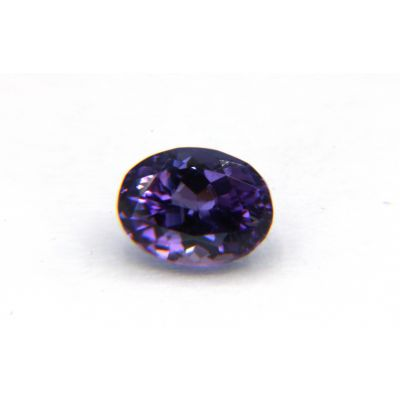 Tanzanite Fancy Zoisite purple loose gemstone GWTZ-O-0.99CTS FTZ0005