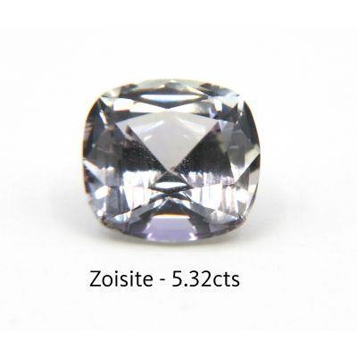 Colorless Zosite /  Fancy Tanzanite 5.32 cts