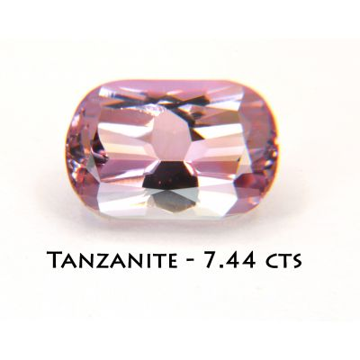 Pink Fancy Tanzanite Zosite 7.44 cts FTZ0001