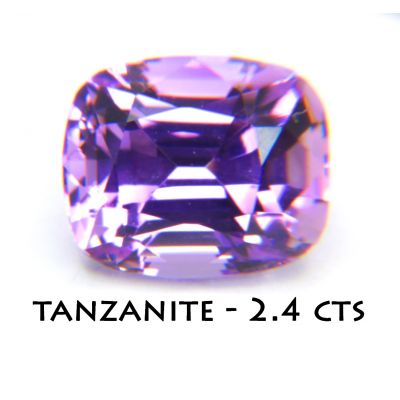 Fancy Zosite/Tanzanite 2.4 cts FTZ0002