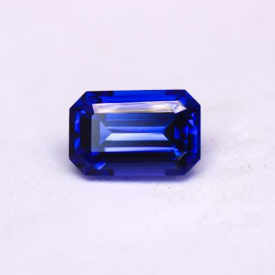 Tanzanite Emerald cut 1.24cts Loose Gemstone TZ0069